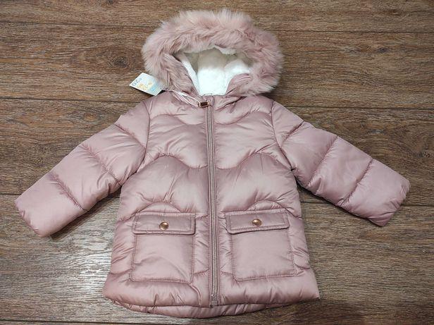 Красивая стильная курточка Primark 9/12 мес для девочки