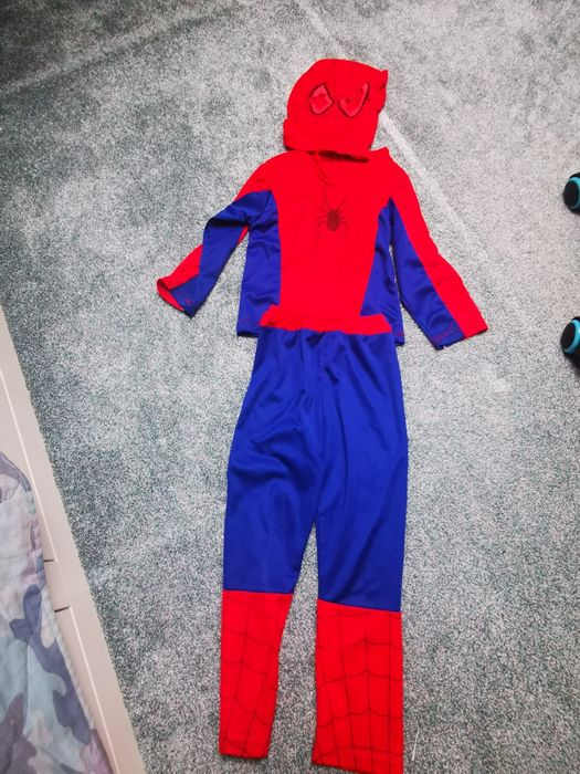 Strój Spider-Man, czlowiek pająk r. 98-110 Gdańsk - image 1