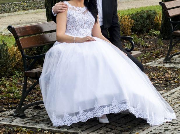 Suknia ślubna      halka z kołem