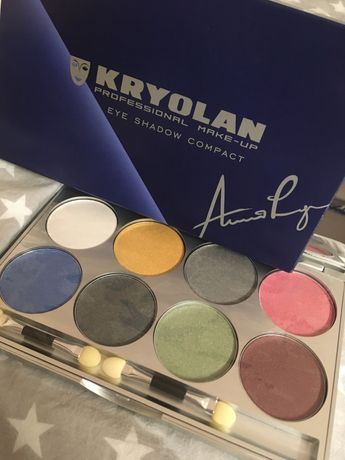Cienie kryolan professional make-up EYE SHADOW MIRROR PALETTE