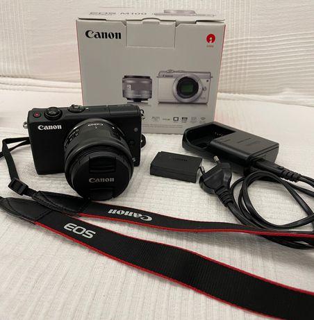 Canon EOS M100 + EF-M 15-45mm