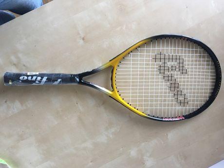 """Rakieta tenisowa Fino, z pokrowcem, nowa, rozmiar 4 3/8"""""""