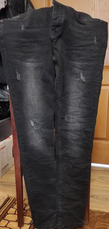 Чоловічі чорні штани