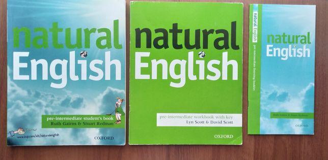Natural English pre-intermediate Student's book Workbook klucz komplet