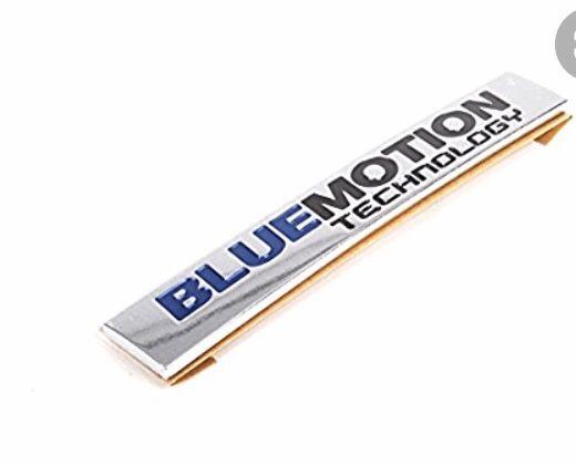 Znaczek emblemat BlueMotion Technology