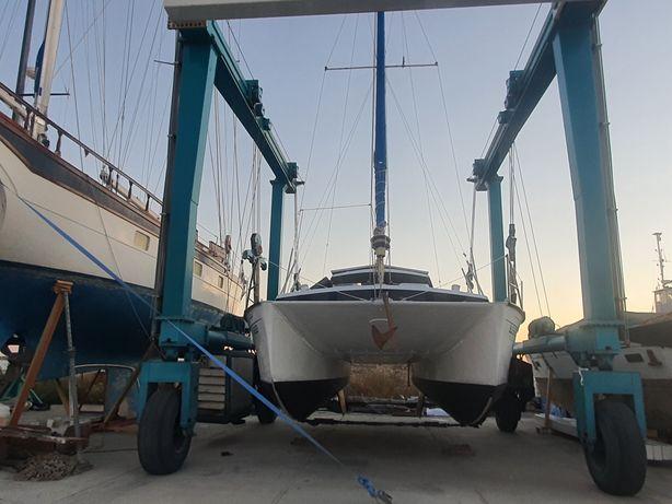 Catamarã 9m oceanic eletrico