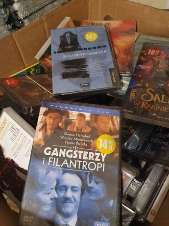 Filmy DVD, nowe, zafoliowane.