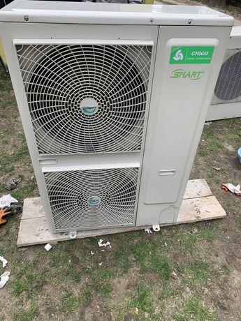 Pompa ciepła inwenter CHIGO 16kw zewnetrzna klimatyzacja jednostka