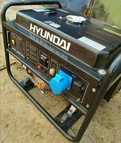 Генератор бензиновый - HYUNDAl 5.5 kw Б/У