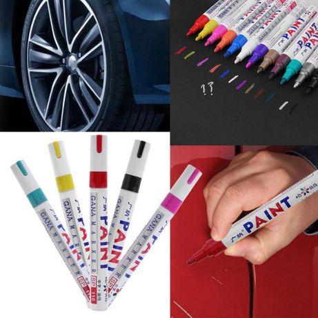 Маркер для шин по резине Paint карандаш для колёс ручка на покрышки