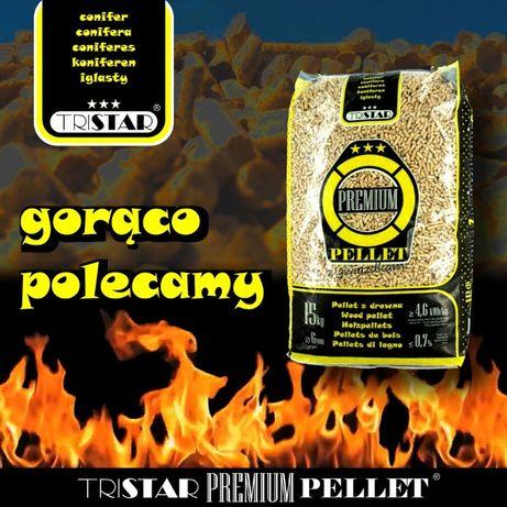 Pellet TRISTAR Premium 6mm 100% A1 FSU transport - WINDA real foto