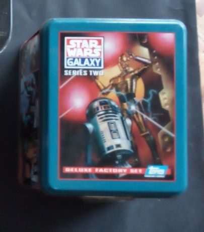 star wars galaxy series two deluxe factory set topps
