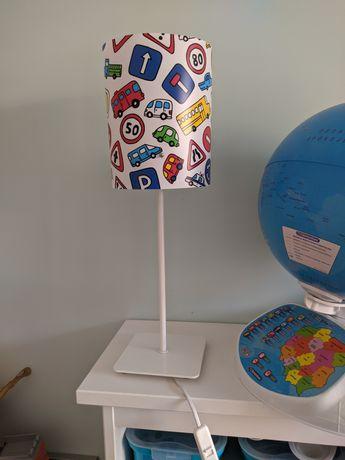Lampa dziecięca znaki drogowe