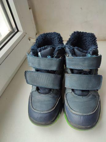 Демисезонные ботинки на мальчика 30 размер
