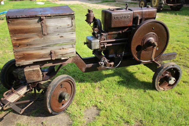 Silnik spalinowy Deutz otto 1930 stacjionarny lanz bulddog Sendling