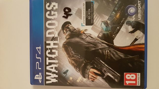 Gra na PS4 Watch dogs