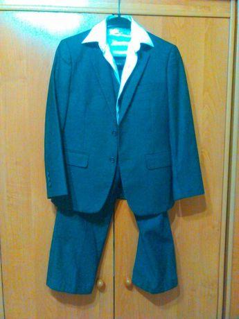 Костюм тройка, школьная форма брюки, пиджак, жилетка