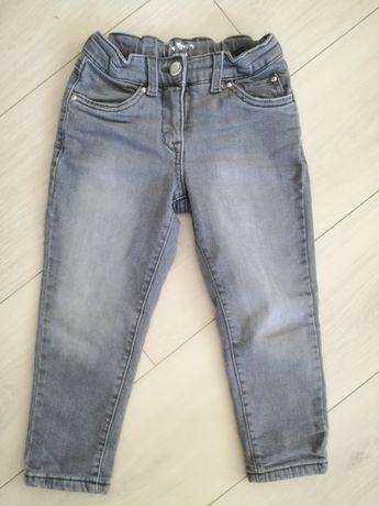 spodnie ocieplane 98-104 cm