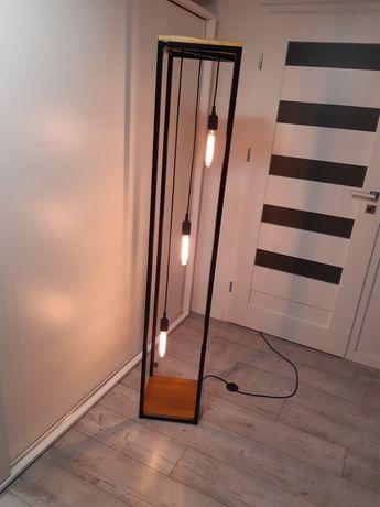 Lampa podłogowa industrialna