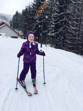 Лыжный костюм Glissade 134+ перчатки в подарок