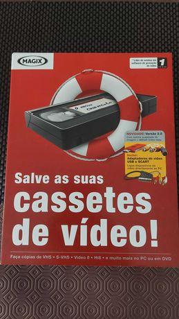 salvar cassetes de vídeo - Software de gravação de vídeo