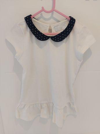 Bluzka biała Smyk Cool Club rozmiar 140