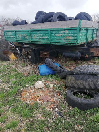 Przyczepa rolnicza jednoosiowa 6 ton