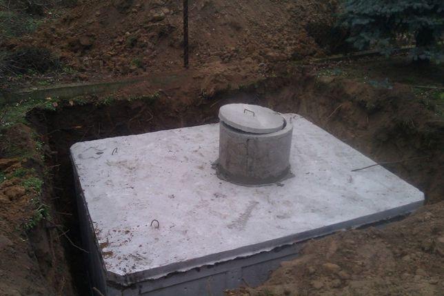 Zbiornik na szamba betonowe, szambo-zbiorniki na deszczówkę-gwarancja