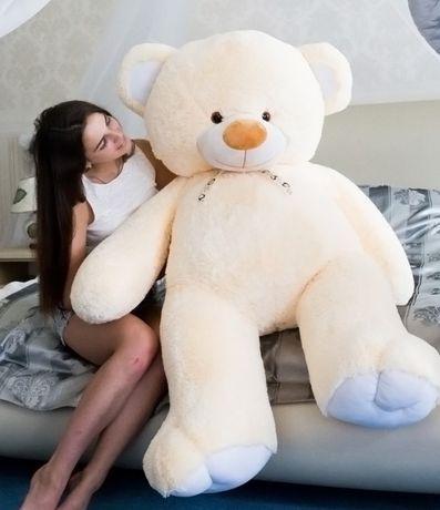 Плюшевый мишка, плюшевый медведь, мягкая игрушка, от 50 см до 2 метра