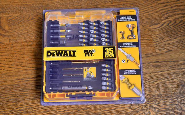 Dewalt MaxFit 35шт набір біт,сверл під імпакт,шурік(Makita,Milwaukee)