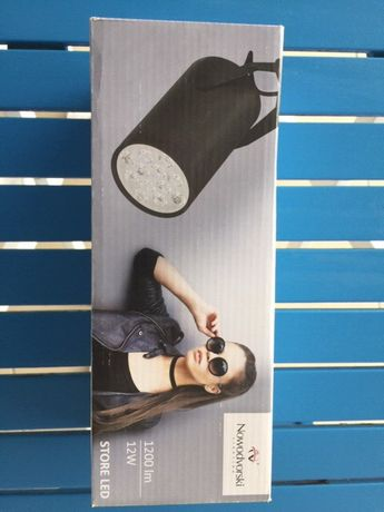 Lampy led Profile store 12 W black Nowodworski