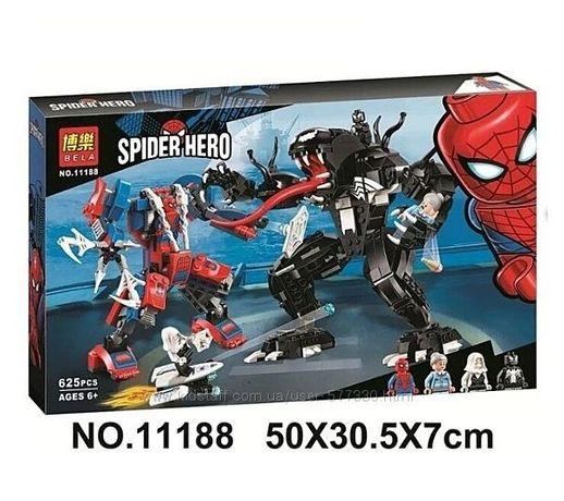 11188 Конструктор Bela Человек - Паук против Венома супергерои