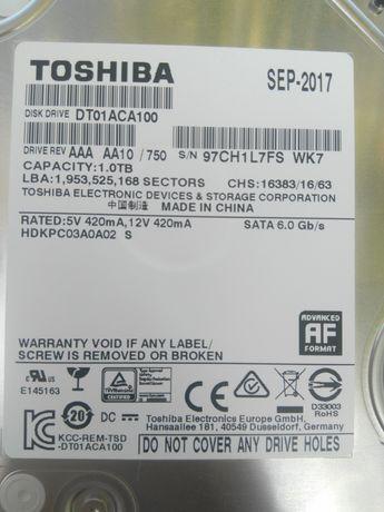 HDD Toshiba 1 TB 7200rpm sata 6 gb/s