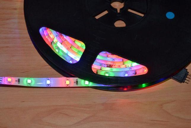 Fita Leds - RGB - 5 Metros - Resistente Água + Comando