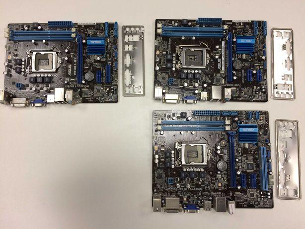 Материнская плата s1155 P8H61-MX, P8H61-MX USB3 i3, i5, i7