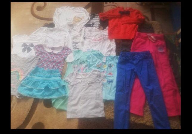Zestaw ubranek dla dziewczynki zestaw ubrań ciuchów 128 7-8 lat