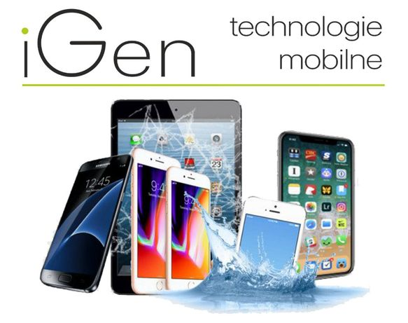 Wymiana szybki APPLE IPHONE 5S Gwar. iGen Lublin + montaż Gr