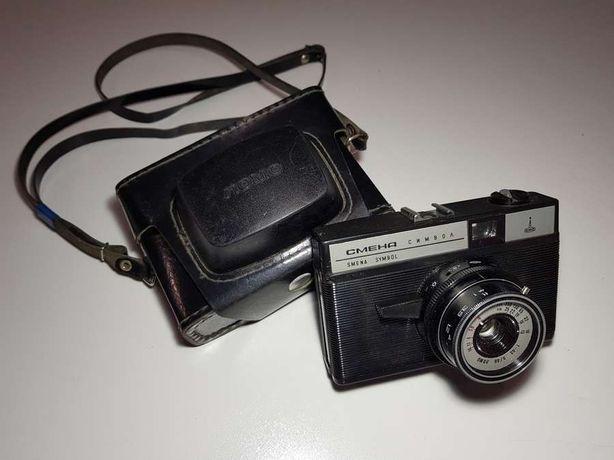 Фотоаппарат SMENA SYMBOL, антиквариат, с чехлом