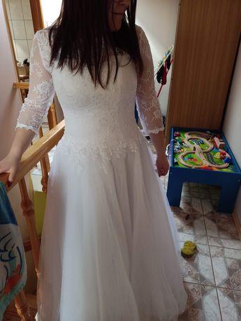 Suknia ślubna od S do L