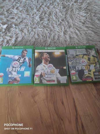 Gry Xbox one FIFA 17/18/19