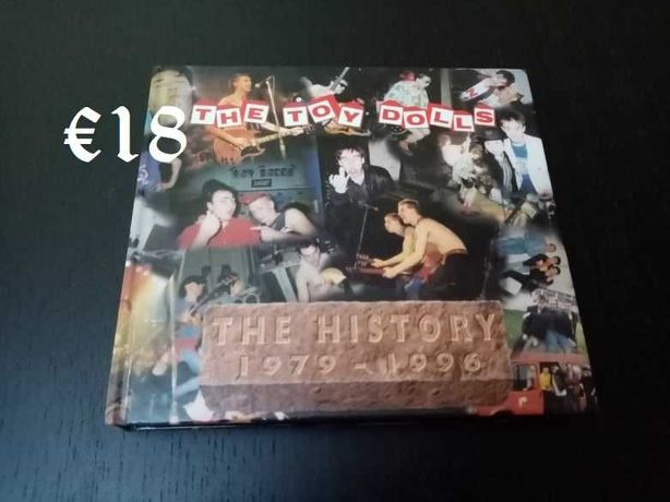 CD, LPs e tapes Metal Punk Rock Ska, Preços nas fotos