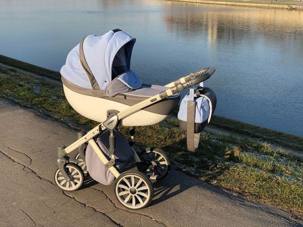 Wózek 2w1 ANEX SPORT: gondola + spacerówka + gratisy
