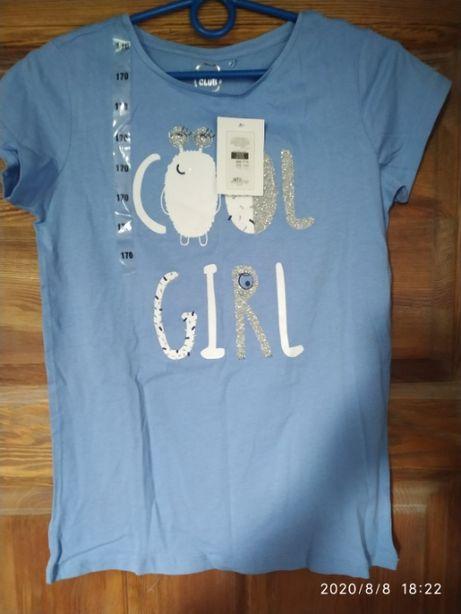 Koszulka niebieska Cool Club - nowa, dziewczęca