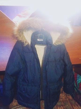 Курточка детская теплая