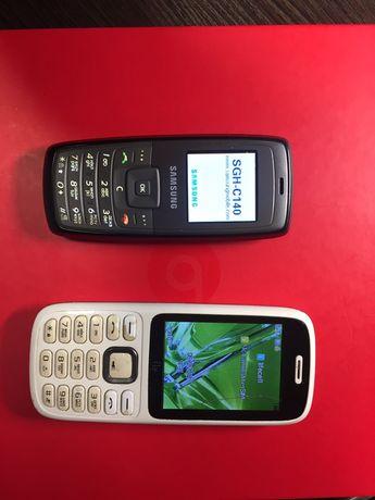 Мобильные телефоны Samsung и Fly