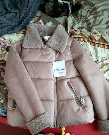 Куртка дублёнка осень зима