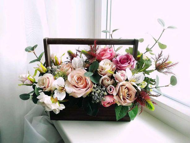 Кашпо. Ящики под цветы. Сладости.
