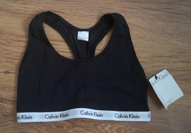 Stanik sportowy Calvin Klein roz S bawełna