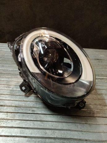 Farol direito Mini F54 Clubman F55 F56 F57 Cabrio Cooper One LED optica otica direita JCW preto