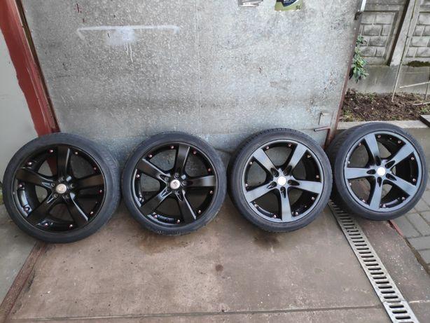 4x Koła Felgi aluminiowe 5x112 Opony 225/235/40/18